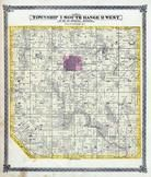 Township 1 South, Range 9 West, Centerville, Roach Town, St. Clair County 1874