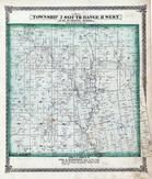 Township 2 South, Range 8 West, Richland Creek, St. Clair County 1874