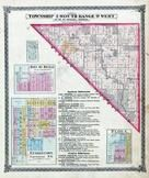 Township 2 South, Range 9 West, Flora, Douglas, Georgetown, Smithton P.O., Paderborn, St. Clair County 1874