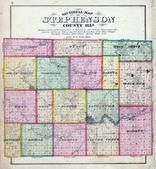 Stephenson County Sectional Map, Stephenson County 1871