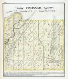 Cincinnati Township, Illinois River, Tazewell County 1873