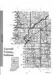 Carroll County Index Map 001, Carroll and White Counties 2002