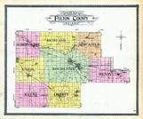 Fulton County Outline Map, Fulton County 1907