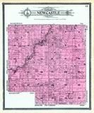 New Castle Township, Bloomingsburg, Mud Lake,  Tippecanoe River, Fulton County 1907