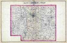German Township, Bremen, Yellow River, Wood Lake, Marshall County 1881