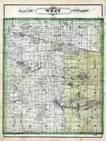 West Township, Donelson, Galbreth Lake, Flat Lake, Pretty Lake, Twin Lakes, Marshall County 1881