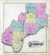 Spencer County 1879 Indiana Historical Atlas