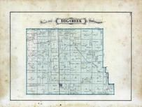 Big Creek Township, Chalmers, White County 1873