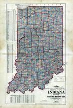 Indiana State Map, White County 1873