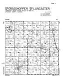 Grasshopper Township - East, Lancaster Township - West, Atchison County 1949