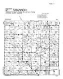 Shannon Township - Northwest, Atchison County 1949