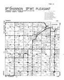 Shannon Township - South, Mt. Pleasant Township - North, Atchison County 1949