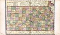 Kansas State Map, Finney County 1910 to 1911