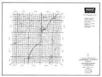 Anderson County, Garnett, Westphalia, Greeley, Harris, Colony, Kincaid, Bush City, Kansas State Atlas 1958 County Highway Maps