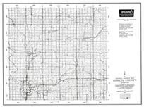 Cowley County, Arkansas City, Winfield, Udall, Atlanta, Timber Creek Lake, Dexter, Akron, Kansas State Atlas 1958 County Highway Maps