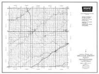 Decatur County, Norcatur, Oberlin, Dresden, Jennings, allison, Kanona, Kansas State Atlas 1958 County Highway Maps