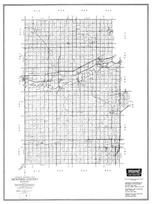 Dickinson County, Herington, Woodbine, Abilene, Solomon, Chapman, Upland, Manchester, Kansas State Atlas 1958 County Highway Maps