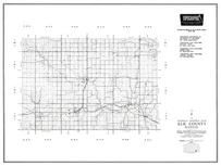 Elk County, Moline, Grenola, Howard, Elk Falls, Oak Valley, Kansas State Atlas 1958 County Highway Maps