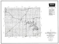 Ellsworth County, Wilson, Hollyrood, Lorraine, Terre Cotta, Arcola, Langley, Kansas State Atlas 1958 County Highway Maps