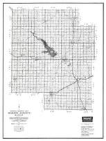 Marion County, Hillsboro, Lehigh, Antelope, Peabody, Lost Spring, Kansas State Atlas 1958 County Highway Maps