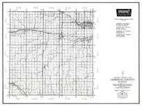 Osborne County, Natomia, Down, Corinth, Portis, Alton, Covert, Kansas State Atlas 1958 County Highway Maps
