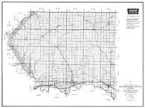 Pottawatomie County, Olsburg, St. George, Wamego, Emmett, Onaga, Havensville, Wheaton, Kansas State Atlas 1958 County Highway Maps