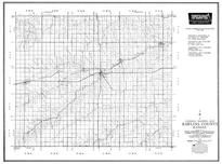 Rawlins County, Attwood, McDonald, Ludell, Herndon, Blakeman, Kansas State Atlas 1958 County Highway Maps