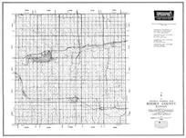 Rooks County, Plainville, Damar, Webster, Woodston, Stockton, Palco, Zurich, Kansas State Atlas 1958 County Highway Maps