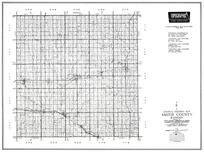 Smith County, Kensington, Smith Center, Gaylord, Cedar, Claudell, Lebanon, Thornburg, Reamsville, Kansas State Atlas 1958 County Highway Maps