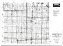 Sumner County, Caldwell, Wellington, Oxford, Conway Springs, Belle Plaine, Mulvane, Rome, Kansas State Atlas 1958 County Highway Maps
