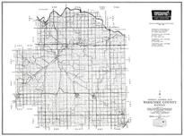Wabaunsee County, Eskridge, Harveyville, Alta Vista, Alma, Paxico, Maple Hille, Willard, McFarland, Kansas State Atlas 1958 County Highway Maps
