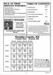 Table of Contents, Nemaha County 1999