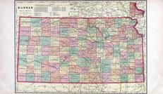 Kansas State Map, Rooks County 1904 to 1905