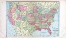 United States Map, Rooks County 1904 to 1905