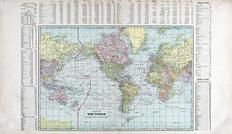 World Map, Rooks County 1904 to 1905
