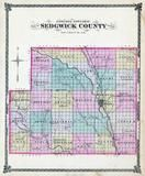 Sedgwick County Map, Sedgwick County 1882 Copy 1