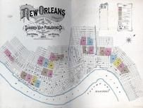 Title Page, Index Map, New Orleans 1887
