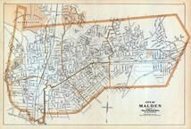 Malden, Massachusetts State Atlas 1909