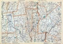 Plate 020 - Granby, Belchertown, Braintree, Brookfield, Ware, Massachusetts State Atlas 1909