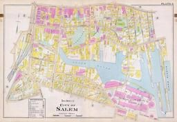 Plate 003 - City of Salem, Wards 1 and 5, Salem - Marblehead - Peabody - Danvers 1897