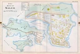 Plate 011 - City of Salem, Ward 1, Salem - Marblehead - Peabody - Danvers 1897