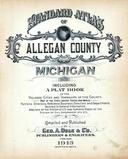 Title Page, Allegan County 1913 Published by Geo. A. Ogle & Co