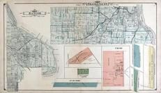 Bangor and Frankenlust Townships, Crump, Rush - Mere, West Saginaw, Brooks, Bay County 1916