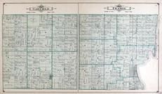 Garfield and Fraser Townships, Crump, Linwood, Lengsville, Bay County 1916