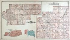 Portsmouth and Merritt Townships, Munger, Kawkawlin, Bay County 1916