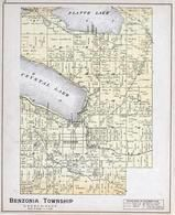 Benzonia Township, Crystal Lake, Platte Lake, Beulah, Benzie County 1901