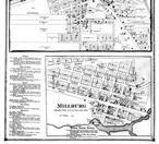 Benton Harbor, Millburg - Below, Berrien County 1873