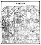Benton Township, Lake Michigan, Benton Harbor, Millburg, Berrien County 1873