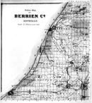Berrien County Outline Map