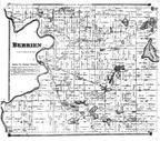 Berrien Township, Eau Clair PO, Dicksons Corners, Berrien County 1873